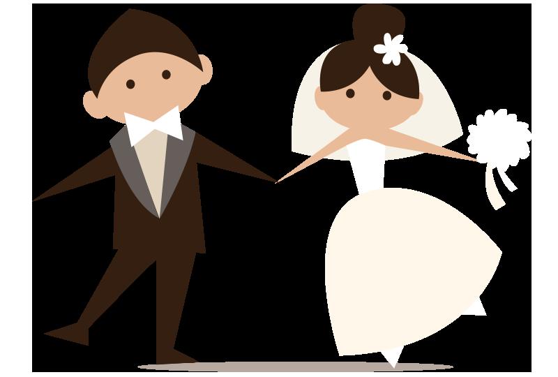 Novomanželé, které natáčí svatební kameraman